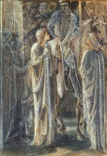 E.Burne Jones, Studie zu Auszug d.Ritter von AKG  Images