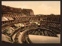 Rom, Kolosseum / Photochrom von AKG  Images