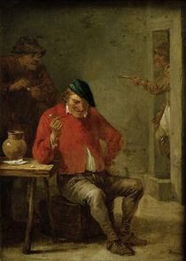 David Teniers d.J., Tabagie mit ... von AKG  Images