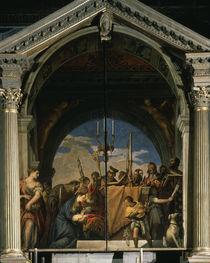 Veronese, Darstellung im Tempel by AKG  Images
