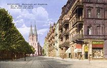 Wiesbaden, Ringkirche/Photochrom,ca.1910 von AKG  Images