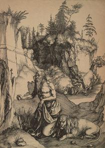Duerer, Hl.Hieronymus in der Wueste von AKG  Images
