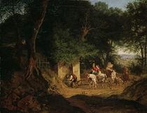 L.Richter, Waldbrunnen bei Ariccia by AKG  Images