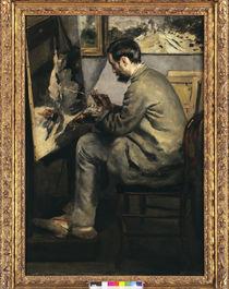 Frederic Bazille malt... / Gem.v.Renoir by AKG  Images