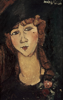 A.Modigliani, Lolotte by AKG  Images