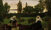 J.E.Millais, Das Tal der Stille by AKG  Images