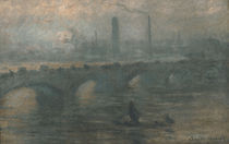C.Monet, Waterloo Bridge by AKG  Images