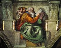 Michelangelo, Prophet Zacharias by AKG  Images