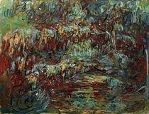 C.Monet, Die japanische Bruecke by AKG  Images