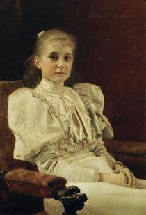 Gustav Klimt, Sitzendes junges Maedchen von AKG  Images