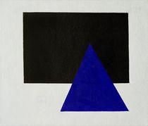 Malewitsch/ Rechteck Dreieck/ 1915 von AKG  Images