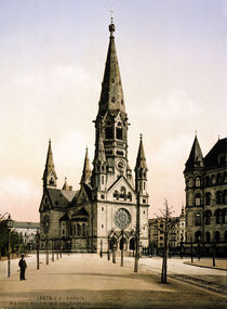 Berlin/ Kais.Wilh.Gedaecht.Kirche / 1900 by AKG  Images