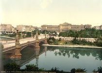 Strassburg, Universitaet / Photochrom by AKG  Images