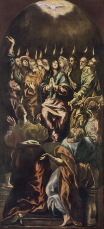 El Greco, Ausgiessung des Hl.Geistes by AKG  Images