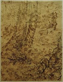 v.Gogh, Baeume mit Efeu im Garten... von AKG  Images