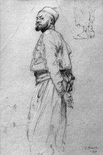 Ludwig Knaus, Stehender Marokkaner by AKG  Images