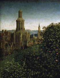 van Eyck,Genter Altar (Det.),Stadt/ 1432 von AKG  Images