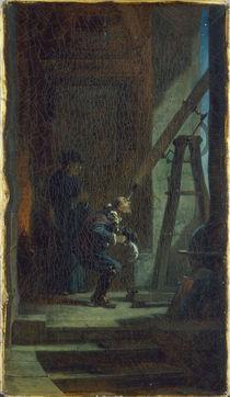 C.Spitzweg, Der Sterndeuter/um 1860-65 by AKG  Images