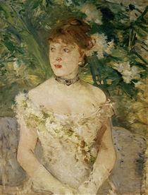 B.Morisot, Junge Frau im Ballkleid von AKG  Images