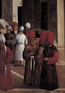 G.Bellini, Predigt Markus, Orientalen by AKG  Images