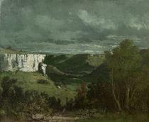 G.Courbet, Das Tal der Loue von AKG  Images
