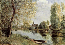 Sisley/ Fruehling in Moret sur Loing by AKG  Images