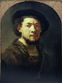 Rembrandt, Selbstbildnis/ Sao Paulo von AKG  Images