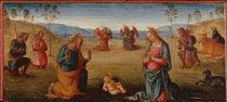 Perugino, Anbetung des Kindes von AKG  Images