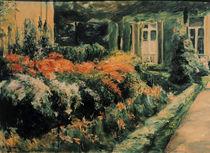 M.Liebermann, Blumenstauden by AKG  Images