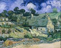 V.van Gogh, Strohgedeckte Haeuser by AKG  Images