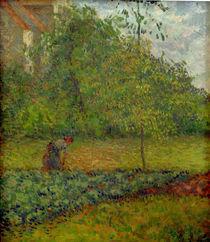 C.Pissarro, Gemuesegarten mit Baeuerin... von AKG  Images