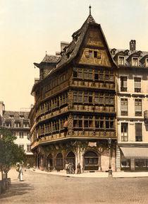 Strassburg, Haus Kammerzell / Photochrom von AKG  Images