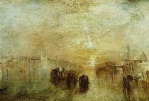 W.Turner, Venedig, Auf dem Weg zum Ball by AKG  Images