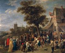D.Teniers d.J., Bauernfest von AKG  Images