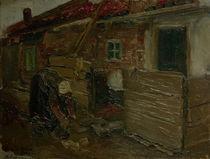 M.Liebermann, Hollaend.Bauernhaus m.Frau von AKG  Images