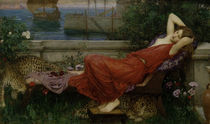 J.W.Waterhouse, Ariadne, 1898 by AKG  Images