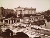 Berlin, Alte Nationalgalerie / Foto 1900 von AKG  Images