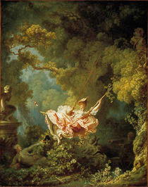 J.H.Fragonard, Die Schaukel by AKG  Images