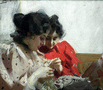 Anders Zorn, Spitzensaum / 1894 by AKG  Images