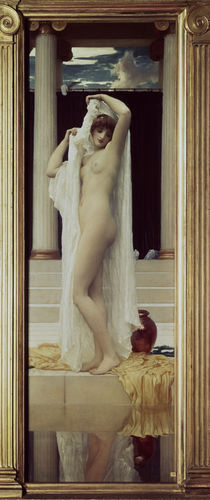 Lord Leighton, Das Bad der Psyche by AKG  Images