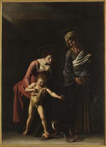 Caravaggio, Madonna dei Palafrenieri by AKG  Images