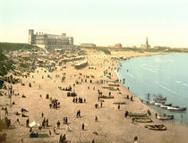 Tynemouth, Strand / Photochrom by AKG  Images
