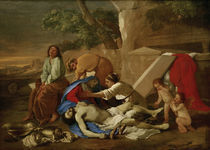 N.Poussin, Die Beweinung Christi by AKG  Images