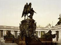 Berlin, Denkmal Kaiser Wilhelms / Foto von AKG  Images