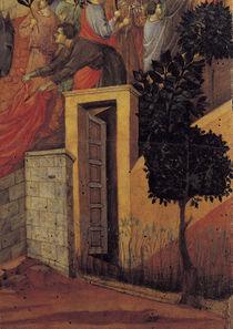 Duccio, Einzug in Jerusalem, Ausschnitt by AKG  Images