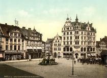 Braunschweig, Kohlmarkt / Photochrom von AKG  Images