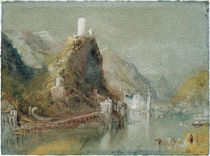 W.Turner, Cochem aus suedl. Richtung by AKG  Images