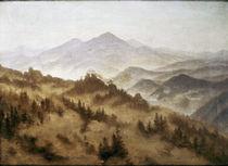 C.D.Friedrich, Gebirgslandschaft/um 1835 von AKG  Images