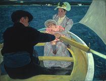 Mary Cassatt, Die Kahnpartie/ 1893-94 von AKG  Images