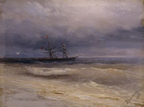 I.K.Aiwasowski, Schiff auf dem Meer by AKG  Images